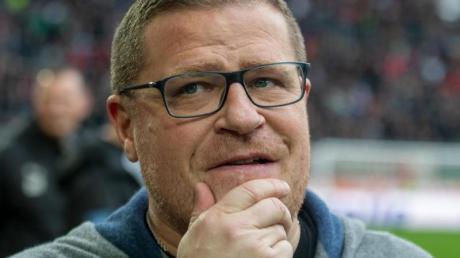 Max Eberl, Sportchef von Borussia Mönchengladbach, steht vor schweren Aufgaben.