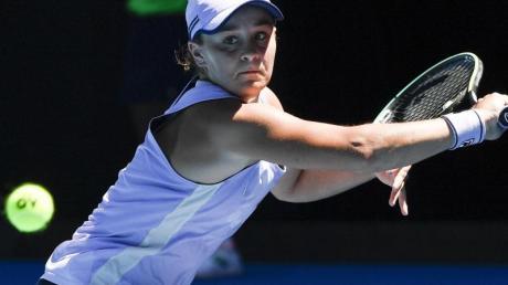 Ashleigh Barty ist im Viertelfinale ausgeschieden.