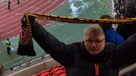 Immer wenn Lörinc Petrovics im Rudolf-Harbig-Stadion in Dresden ist, bekommt der Lauinger Fußball-Fan eine Gänsehaut.