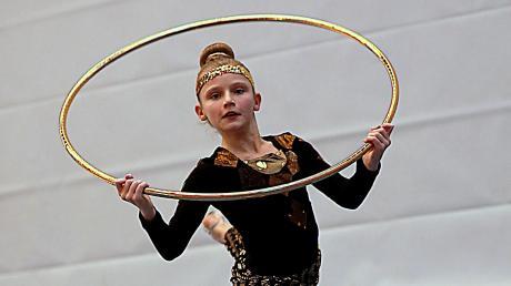 Sportgymnastin Luzie-Riva Lampe setzte sich bei der Wahl zur Sportlerin des Jahres durch.
