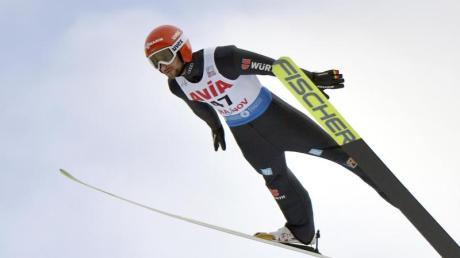 Markus Eisenbichler wurde bei der WM-Generalprobe in Rasnov disqualifiziert.