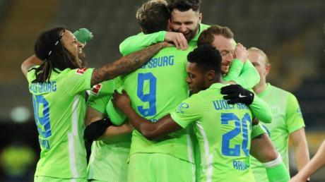 Der VfL Wolfsburg gewann sehr deutlich in Bielefeld.