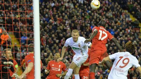 Für Ragnar Klavan (Mitte) waren die beiden Spiele in der Zwischenrunde der Europa League 15/16 gegen den FC Liverpool der Türöffner in die Premier League.