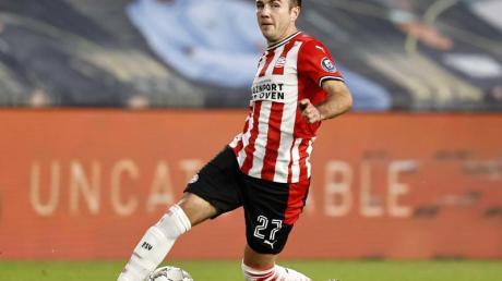 Spielt im Eindhoven-Trikot stark auf:Mario Götze.