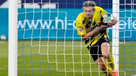 Spielt beim BVB eine überragende Saison: Torjäger Erling Haaland.