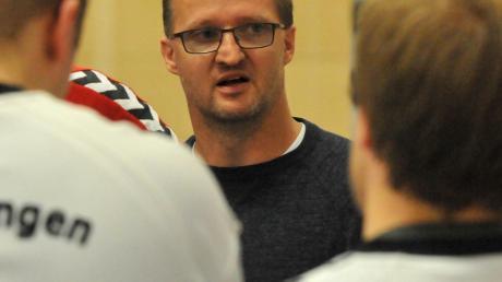 Meitingens Trainer Christian Olmer begrüßt den Saisonabbruch bei den bayerischen Handballern.