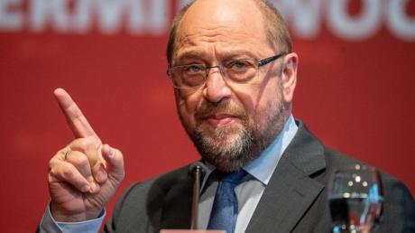 Kritisiert die riesigen Ablösesummen im Profi-Fußball: Martin Schulz (SPD), Bundestagsabgeordneter.