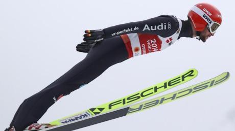Dritter in der Qualifikation für die Großschanze: Markus Eisenbichler.