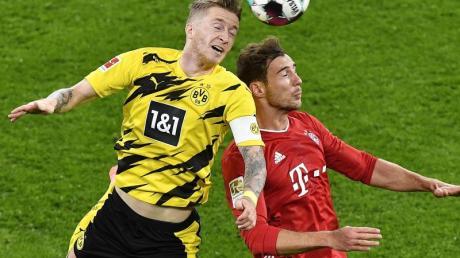 Der FC Bayern München empfängt am 24. Spieltag Borussia Dortmund.