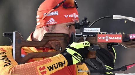 Arnd Peiffer erreichte das Podest im Sprint von Nove Mesto.