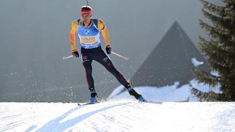 Biathlet Arnd Peiffer peilt beim Weltcup in Nove Mesto die nächste gute Platzierung an.