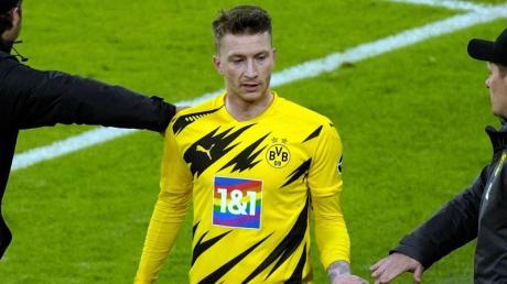 BVB-Kapitän Marco Reus fühlte sich vom Schiedsrichter benachteiligt.