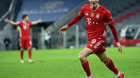 Erzielte drei Treffer gegen den BVB: Bayern-Star Robert Lewandowski.