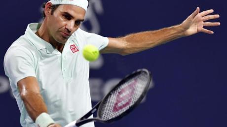 Roger Federer wird beim Turnier in Doha sein Comeback auf dem Tennisplatz geben.