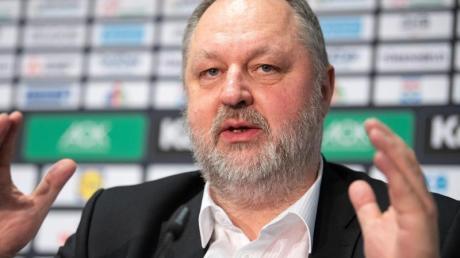 Der Präsident des Deutschen Handballbunds (DHB): Andreas Michelmann.