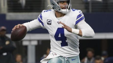 Quarterback Dak Prescott hat einen neuen Vertrag bei den Dallas Cowboys unterschrieben.