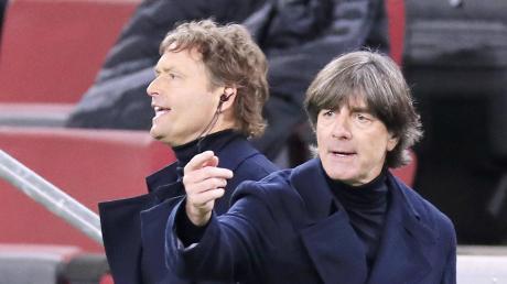 Wird die Nummer zwei wieder die Nummer eins beim DFB? Dann wäre der frühere Ulmer Trainer Marcus Sorg (links) Nachfolger von Joachim Löw.