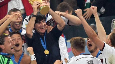 Der Höhepunkt von Joachim Löw als Bundestrainer: Der WM-Sieg 2014 in Rio.