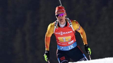 Musste sich im Sprint in Nove Mesto lediglich Tiril Eckhoff geschlagen geben.