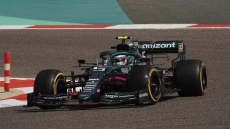 Sebastian Vettel im Aston Martin.
