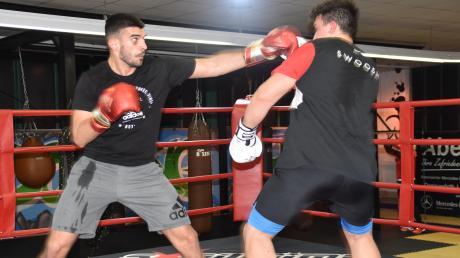 Wanik Awdijan will Box-Weltmeister bei den Profis werden. Er lebt jetzt in Donauwörth.