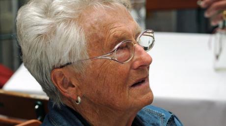 Marianne Rybka war eine bekannte Persönlichkeit im lokalen Fußball in Donauwörth und Umgebung.