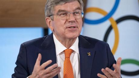 Wirbt nach dem Ausschluss ausländischer Zuschauer von den Sommerspielen in Tokio um Verständnis: IOC-Präsident Thomas Bach.