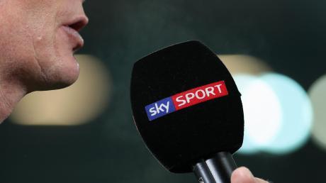Wegen der Pandemie bekam Erkan Ayten vom SV Offenhausen zwar kein richtiges Sky-Mikrofon unter die Nase gehalten, mitreden durfte er aber trotzdem.