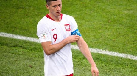 Musste beim polnischen Sieg gegen Andorra verletzt ausgewechselt werden: Robert Lewandowski.
