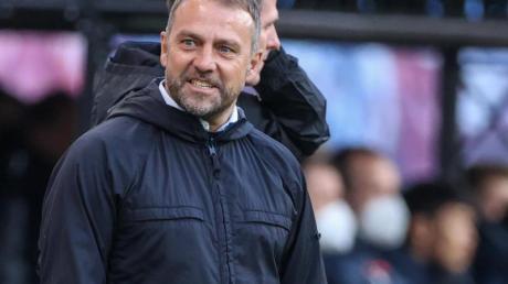 Muss gegen PSG wohl auf Serge Gnabry vertzichten: Bayern-Coach Hansi Flick.