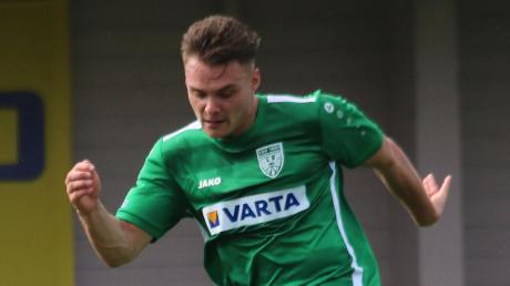 Jonas Halbmeyer wechselt vom TSV Nördlingen zum Regionalligisten VfB Eichstätt.