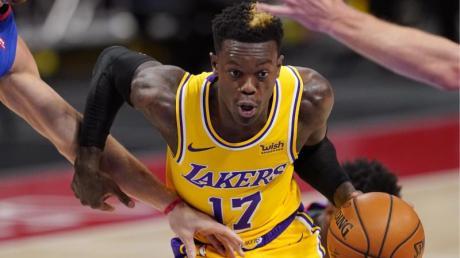 Dennis Schröder sieht sich in den Verhandlungen mit den Los Angeles Lakers in «einer super Situation».