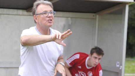 """Helmut """"Bobby"""" Riedl wird in der nächsten Saison nicht mehr Trainer des TSV Haunstetten sein."""