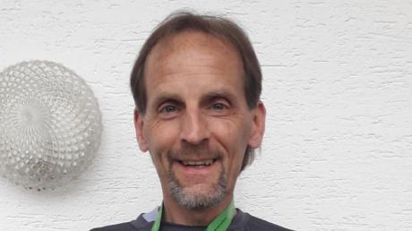 Legte die Marathon-Strecke an vier Tagen in einer Gesamtzeit von 3.28.27 Stunden zurück: Dietmar Schläfer vom TSV Neuburg.