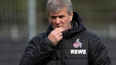 Friedhelm Funkel, der neue Trainer des 1. FC Köln.