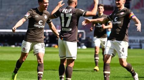 Der FC St. Pauli feierte einen souveränen Heimsieg.