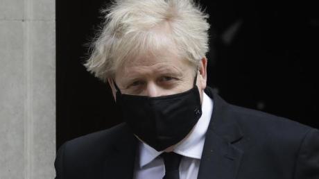Boris Johnson, Premierminister von Großbritannien, positioniert sich gegen eine europäische Super League im Fußball.