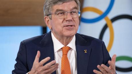 Hofft auf ein positives Signal durch die Fußball-EM für die Olympischen Spiele in Tokio: IOC-Präsident Thomas Bach.