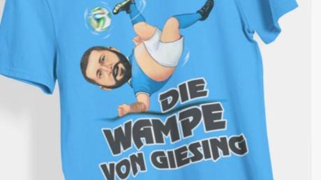 """Sascha Mölders ist die """"Wampe von Giesing""""."""