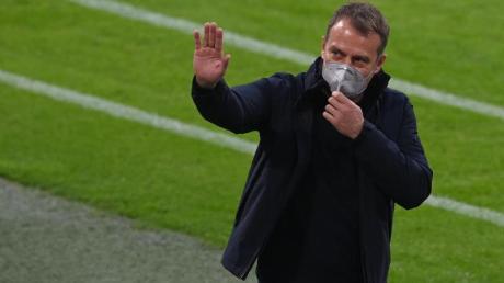 Bayerns Trainer Hansi Flick steht mit seinem Club vor dem Gewinn der deutschen Meisterschaft.