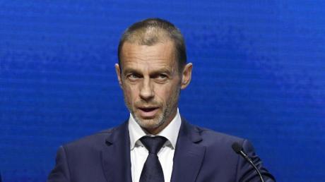 hat den Rückzug der englischen Vereine aus der geplanten Super League begrüßt: UEFA-Präsident Aleksander Ceferin.