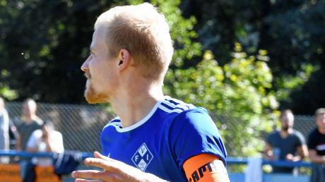 Dominik Trautmann kommt vom FV Illertissen II. Für den bedeutet der Abschied des Spielführers einen schmerzlichen Verlust.