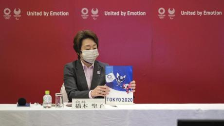 Seiko Hashimoto, Präsidentin des Organisationskomitees der Olympischen und Paralympischen Spiele (Tokio 2020).