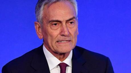 Gabriele Gravina, Präsident des italienischen Fußballverbandes FIGC.