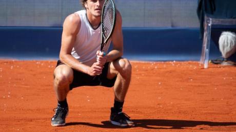 Unterlag überraschend im Viertelfinale: Alexander Zverev.