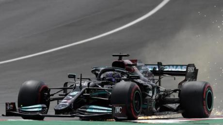Lewis Hamilton fehlten gerade einmal sieben Tausendstelsekunden zur 100. Pole.