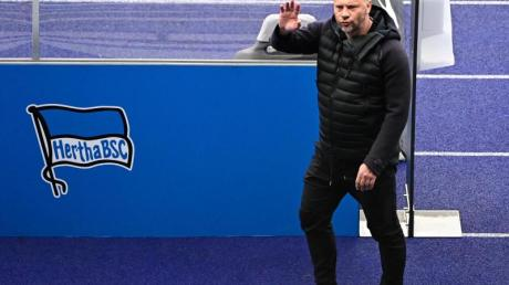 Hertha-Trainer Pal Dardai trifft am Montag mit seinem Team auf den FSV Mainz 05.