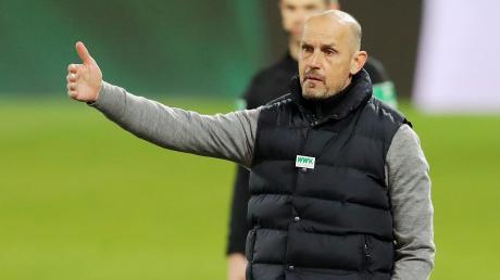 Heiko Herrlich hat Bilanz seiner Zeit beim FC Augsburg gezogen.