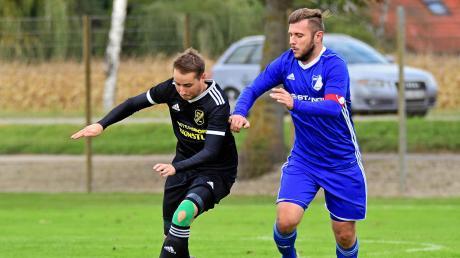 Seinen Abgang muss die TSG Untermaxfeld in der kommenden Saison kompensieren: Torjäger Marco Veitinger (links) wechselt als spielender Co-Trainer zum Kreisklassisten SV Klingsmoos.
