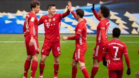 Der FC Bayern München hat sich vorzeitig die deutsche Meisterschaft gesichert.